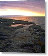 Lake Superior Sunrise Metal Print