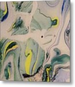 Lake Swirl 2 Metal Print