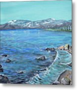 Lake Tahoe From Kings Beach California Metal Print