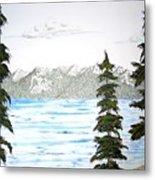 Lake Tahoe In Summer Metal Print