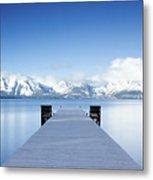 Lake Tahoe Panorama Metal Print