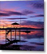 Lake Tahoe Rising Metal Print