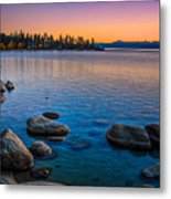 Lake Tahoe State Park Fall Sunset Metal Print by Scott McGuire