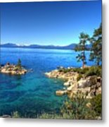 Lake Tahoe State Park Nevada Metal Print