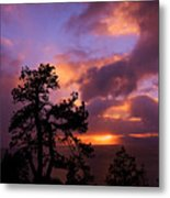 Lake Tahoe Sundown 2 Metal Print