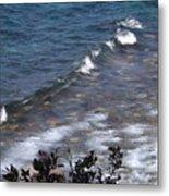 Lake Tahoe Waves Metal Print