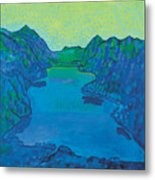 Lake Thun Metal Print
