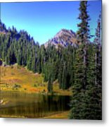 Lake Tipsoo Metal Print