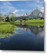Lake Vorderer Schwendisee Metal Print