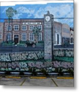 Lake Wales Florida Mural Metal Print