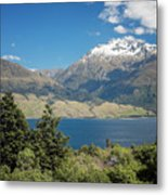 Lake Wanaka New Zealand Iv Metal Print