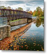 Lake Waterford Fall Waterscape Metal Print