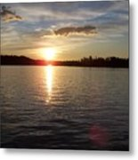 Lake Wilson Sunset Metal Print