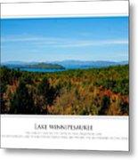 Lake Winnipesaukee - Fall Metal Print by Jim McDonald Photography