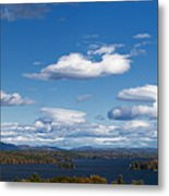 Lake Winnipesaukee New Hampshire In Autumn Metal Print