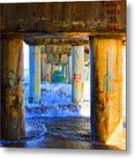 Lake Worth, Florida Pier Metal Print