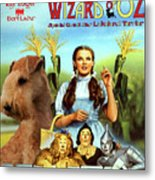 Lakeland Terrier Art Canvas Print - The Wizard Of Oz Movie Poster Metal Print