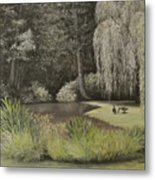 Lakeside At Mountain Playhouse Metal Print