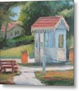 Lakeside East Gate Metal Print