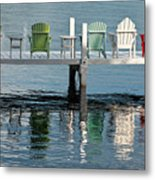Lakeside Living Metal Print