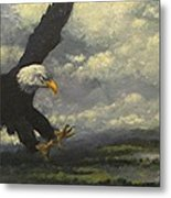 Lakeview Eagle Metal Print
