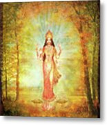 Lakshmi Vision In The Forest  Metal Print