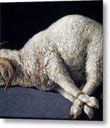 Lamb Of God. Agnus Dei Metal Print