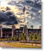 Lambeau Field Awakes Metal Print by Joel Witmeyer