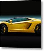 Lamborghini Aventador Lp700-4 Metal Print