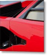 Lamborghini Countach Metal Print