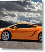 Lamborghini Exotic Car Metal Print