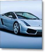 Lamborghini Gallardo 'track Terror' I Metal Print