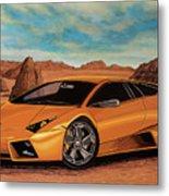 Lamborghini Reventon 2007 Painting Metal Print