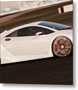 Lamborghini Sesto Elemento - 05 Metal Print