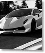 Lamborghini Sesto Elemento - 20 Metal Print