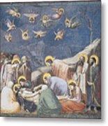 Lamentation Metal Print by Giotto Di Bondone