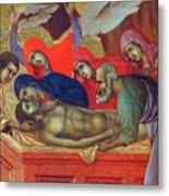 Lamentation Of Christ Fragment 1311 Metal Print