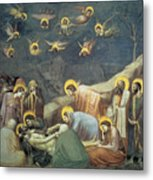 Lamentation Of Christ Metal Print