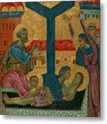 Lamentation Of The Dead Christ Metal Print
