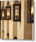 Lamp Light Metal Print