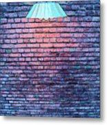 Lamp Light Metal Print