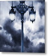 Lamp Post Metal Print