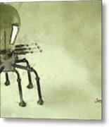 Lampbot Metal Print