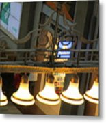 Lamps At The Big C Metal Print