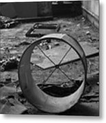 Lampshade After The Party Metal Print
