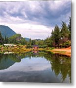 Lampuuk Lake Metal Print