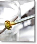 Lampwork Glass Bead Metal Print