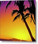 Lanai Sunset II Maui Hawaii Metal Print