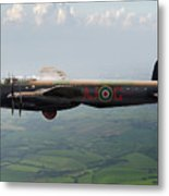 Lancaster Aj-g Carrying Upkeep Metal Print