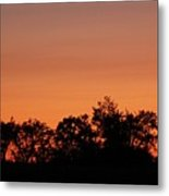 Lancaster County Sunset Metal Print